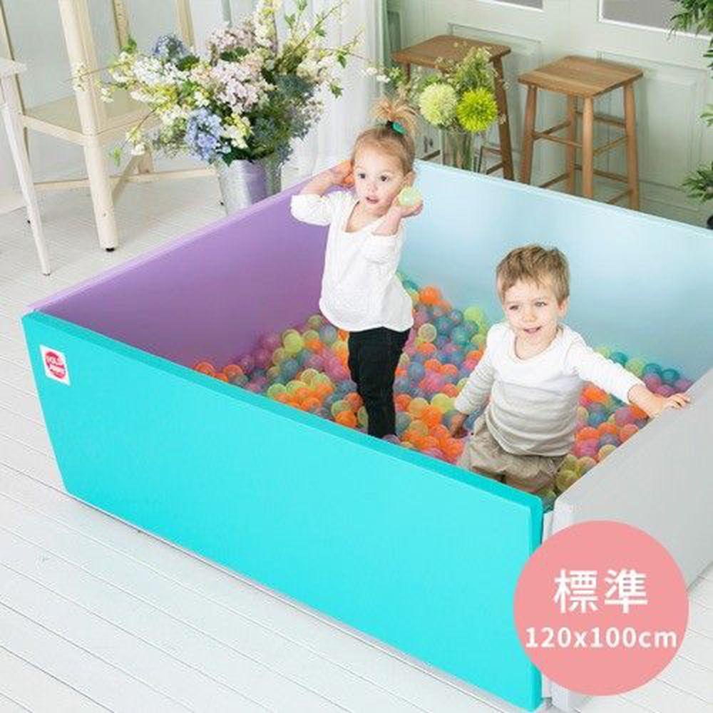 韓國 Foldaway - 安全遊戲城堡圍欄-標準款-Scandia紫色天空 (120x100cm)