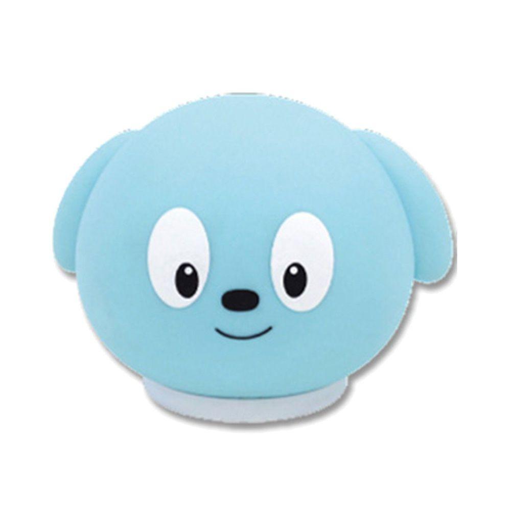 小牛津 - 舒眠音樂柔軟小夜燈-小夜燈+usb線+說明書-藍-需使用三顆四號鹼性電池或USB供電