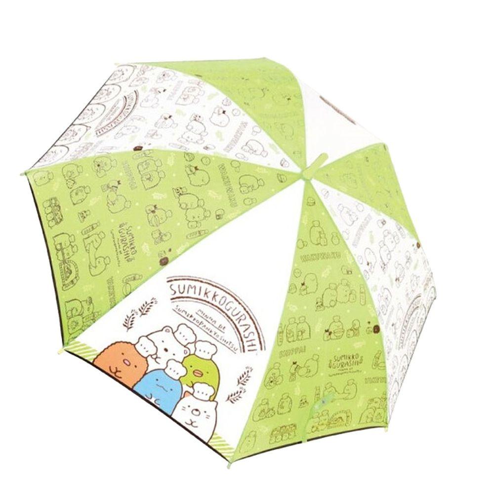 日本代購 - 卡通直傘-角落生物-綠 (55cm(130cm以上))