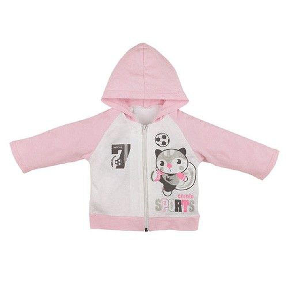 日本 Combi - 外套-足球小將-粉色
