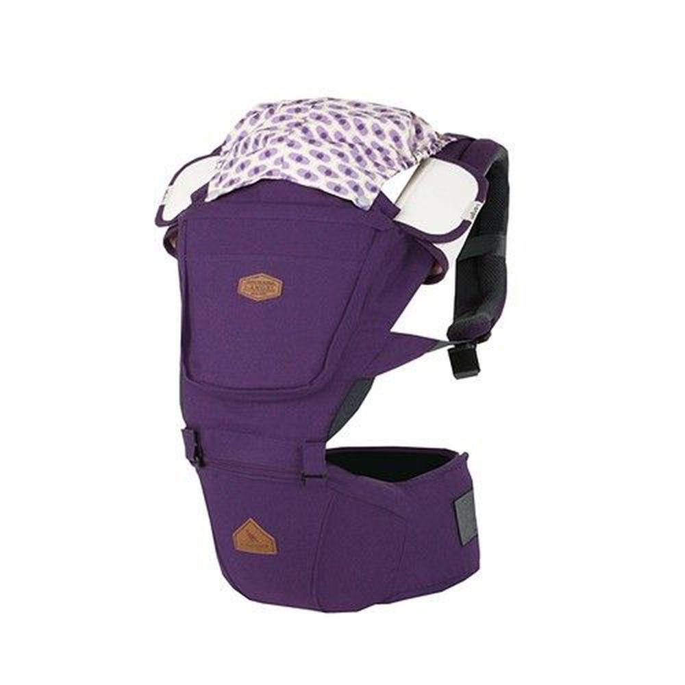 韓國i-angel - 腰凳/坐墊式背巾-RAINBOW 彩虹三用座椅式背巾-紫蘭