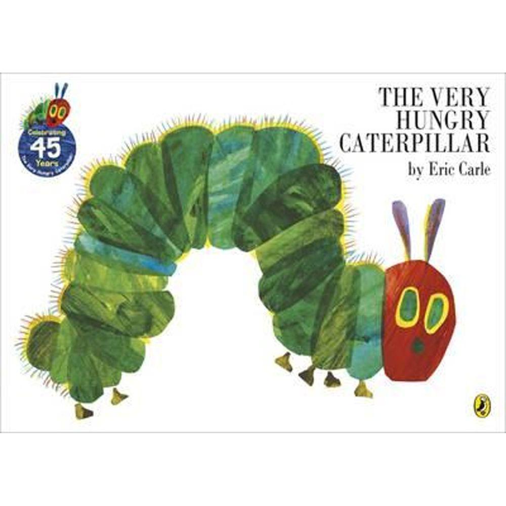 VERY HUNGRY CATERPILLAR-艾瑞卡爾幼兒硬頁書-彩色 (12.8×18cm/硬頁/彩色/18頁)