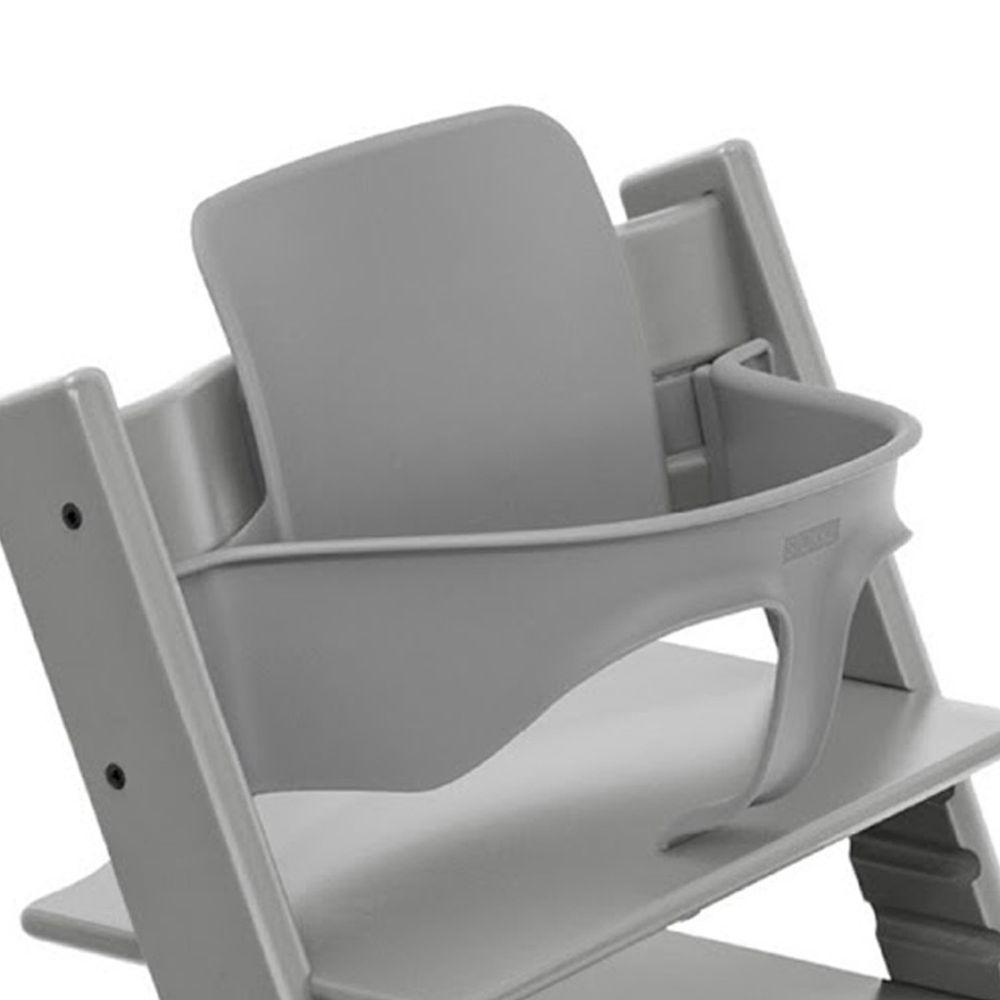 Stokke - Tripp Trapp 成長椅嬰兒套件(不含椅子本體)-風暴灰