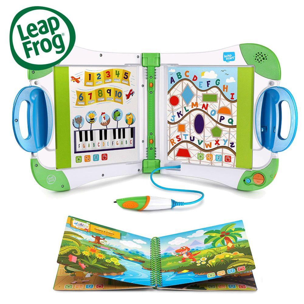 LeapFrog美國跳跳蛙 - LeapStart全英幼童行動學習機-新版(2歲以上適用)-綠白