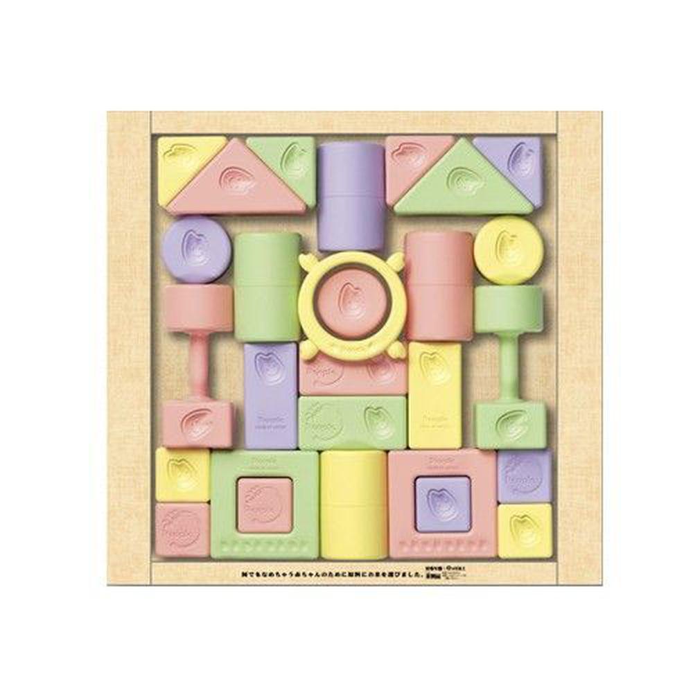 日本 People - 彩色米的積木組合(米製品玩具系列)