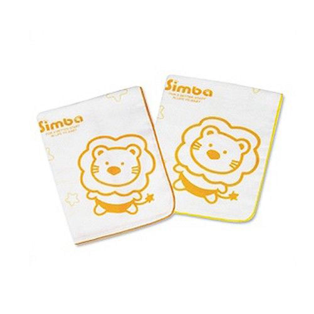 Simba 小獅王辛巴 - 印花紗布澡巾-2入/組 (約49x29cm)