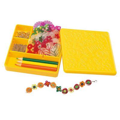 繽紛小花吊飾 Shrink Floral Beads-2條手鍊+1條項鍊