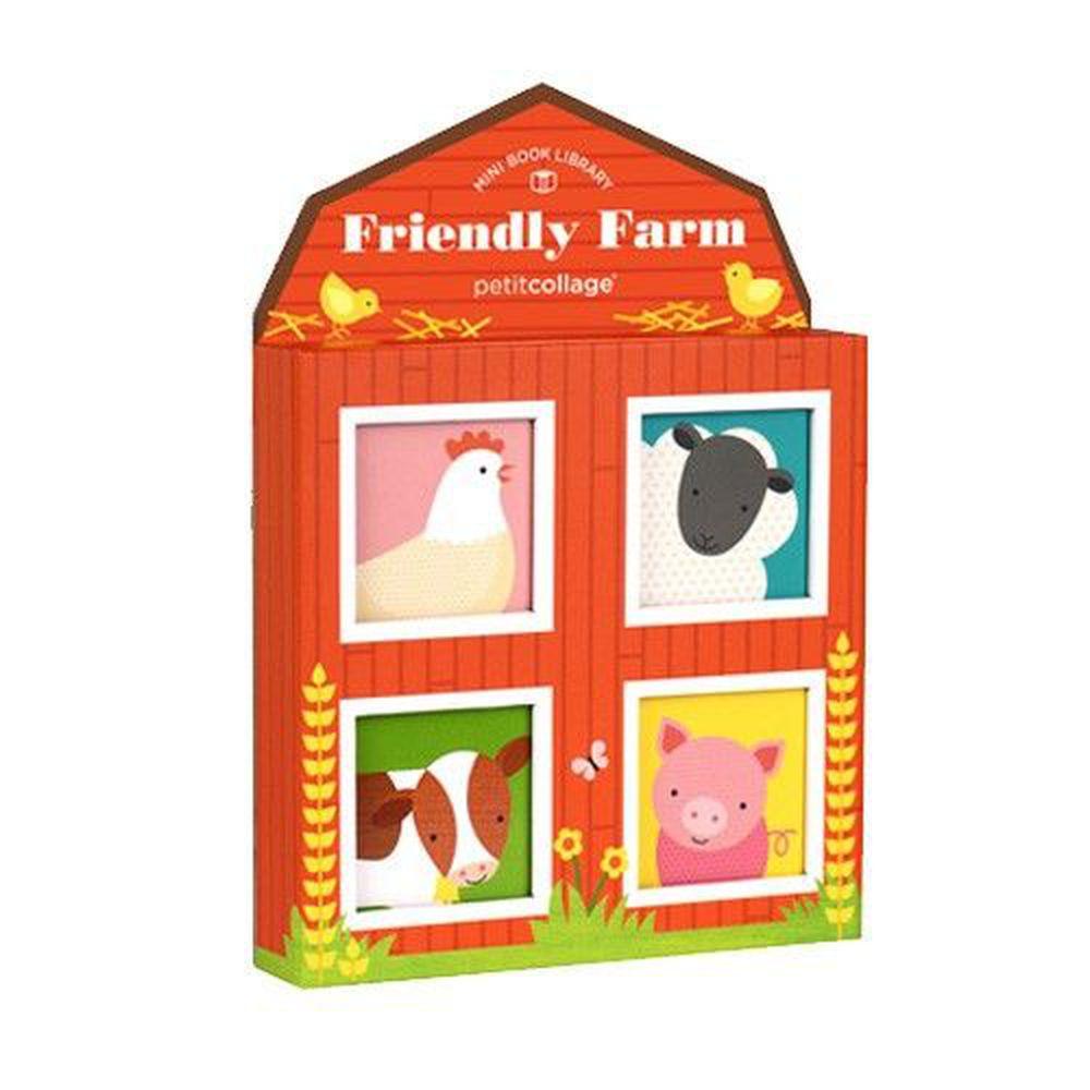 美國 Petit Collage - 迷你圖書館-快樂農場