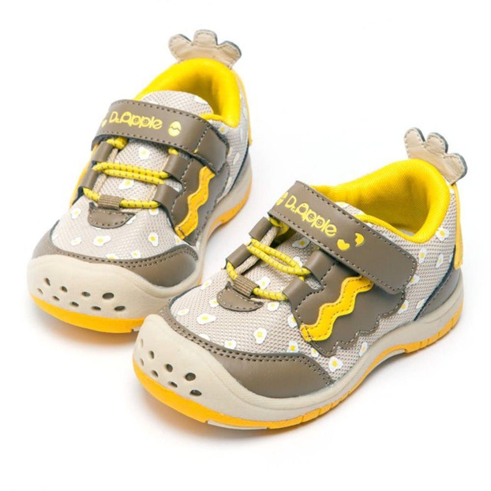 Dr. Apple - 機能童鞋-寶寶可愛小雞俏皮童鞋-咖
