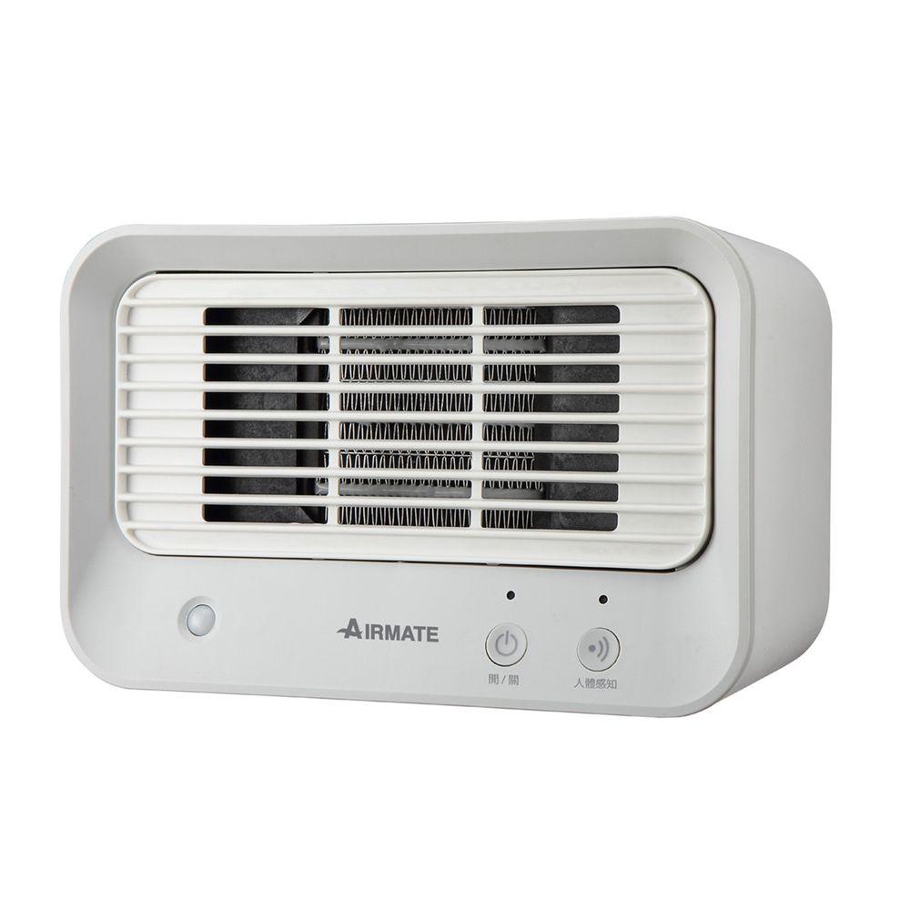 AIRMATE 艾美特 - 人體感知美型陶瓷式電暖器HP060M-灰白