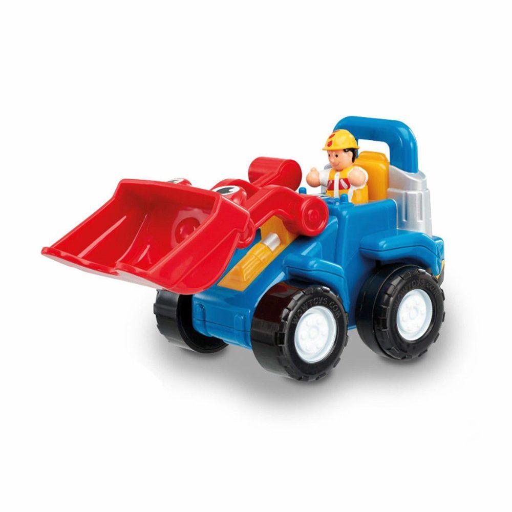 英國驚奇玩具 WOW Toys - 小山貓推土機 盧可