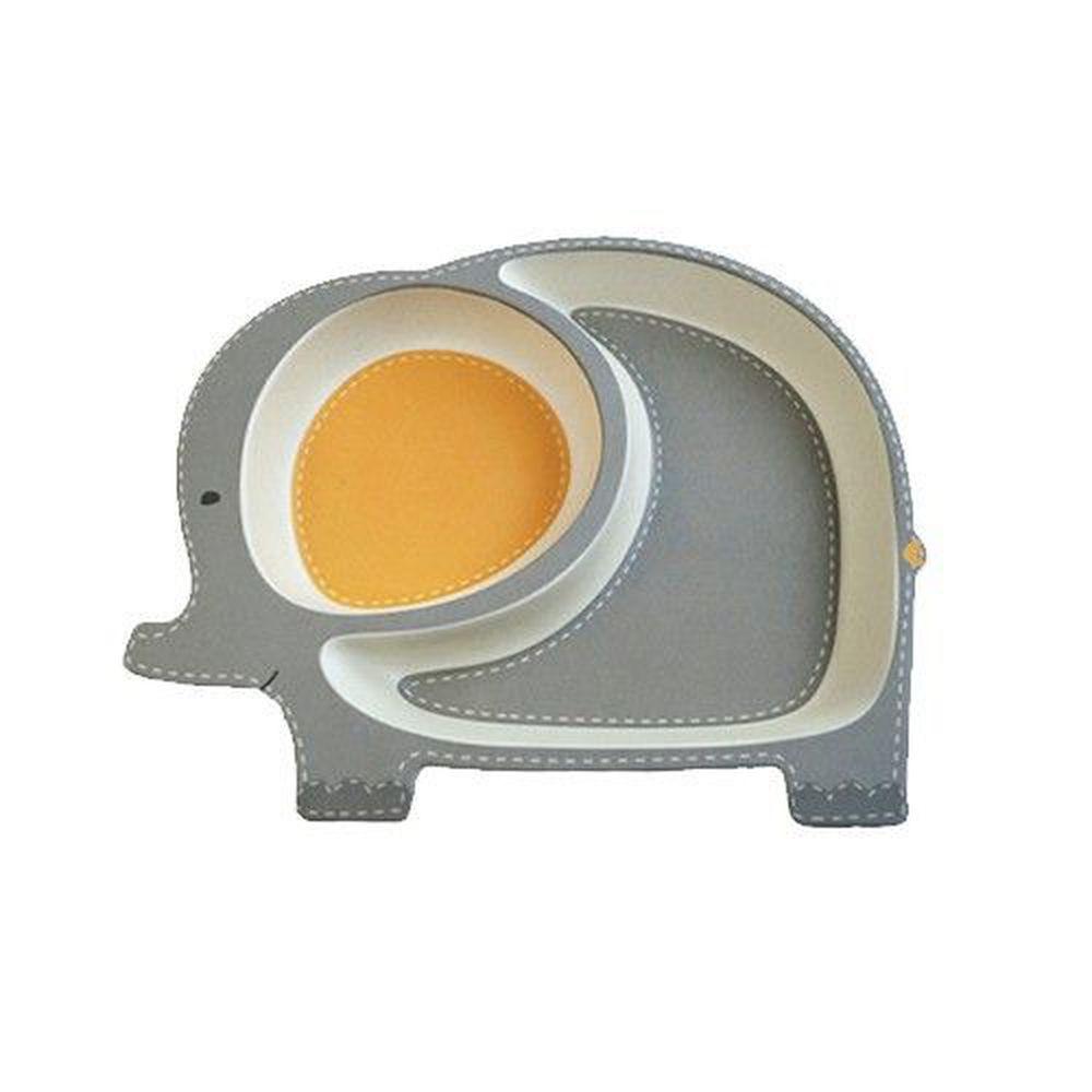 coeco - 竹纖維動物造型兒童餐盤-大象