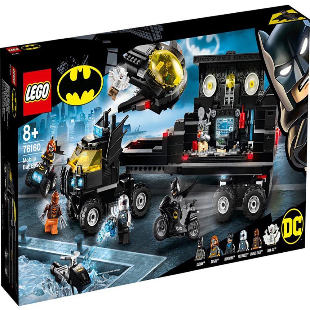 樂高 LEGO - 樂高積木 LEGO《 LT76160 》SUPER HEROES 超級英雄系列 - Mobile Bat Base-743pcs