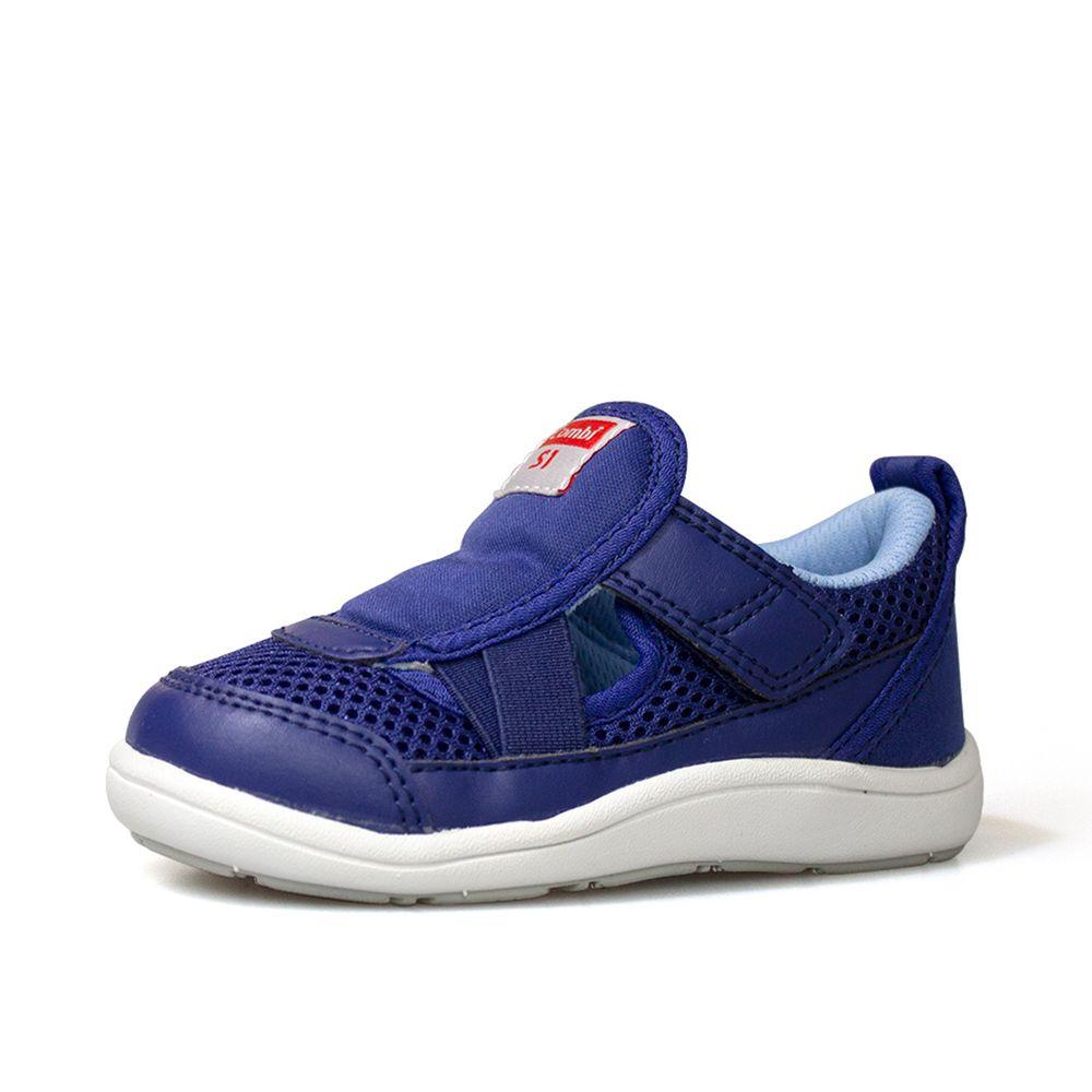 日本 Combi - 機能童鞋/學步鞋-2020年度鉅作新品CORE-S穩健步態機能鞋C01-藍