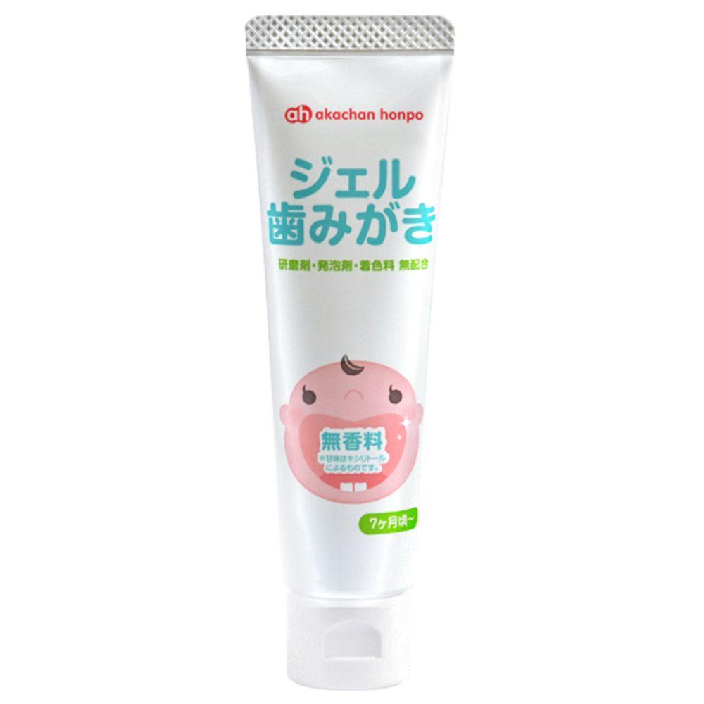 akachan honpo - 凝膠狀牙膏(無香料)
