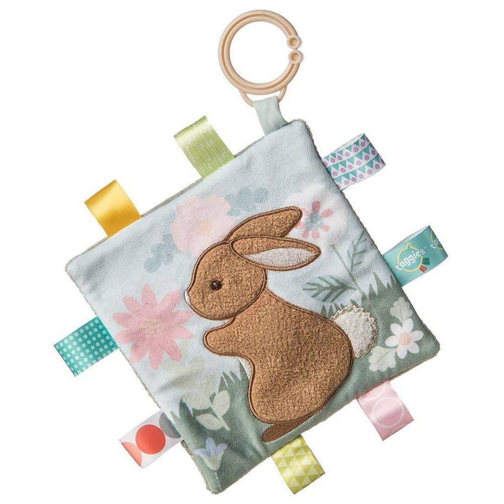 美國 MaryMeyer 蜜兒 - 標籤動物安撫沙沙紙-小麥兔