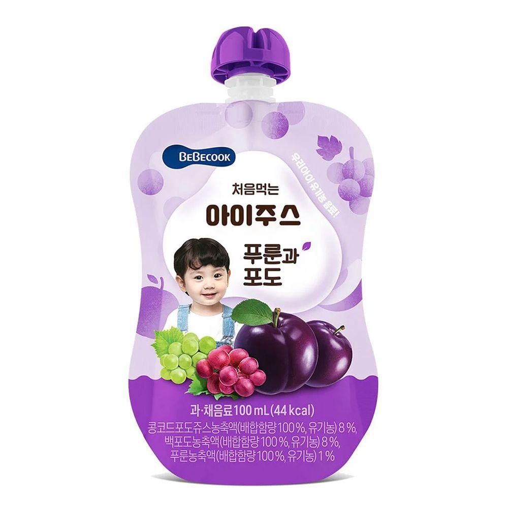 BEBECOOK 寶膳 - 嬰幼兒綜合葡萄西梅汁(7M以上)