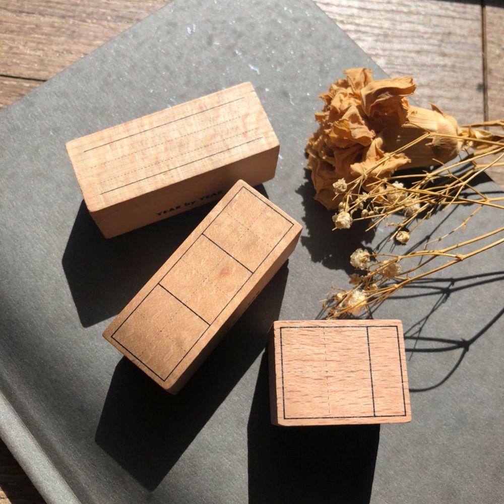 年年.studio - 練字印章禮盒-小習字+中文習字+英文習字+印泥-共4入