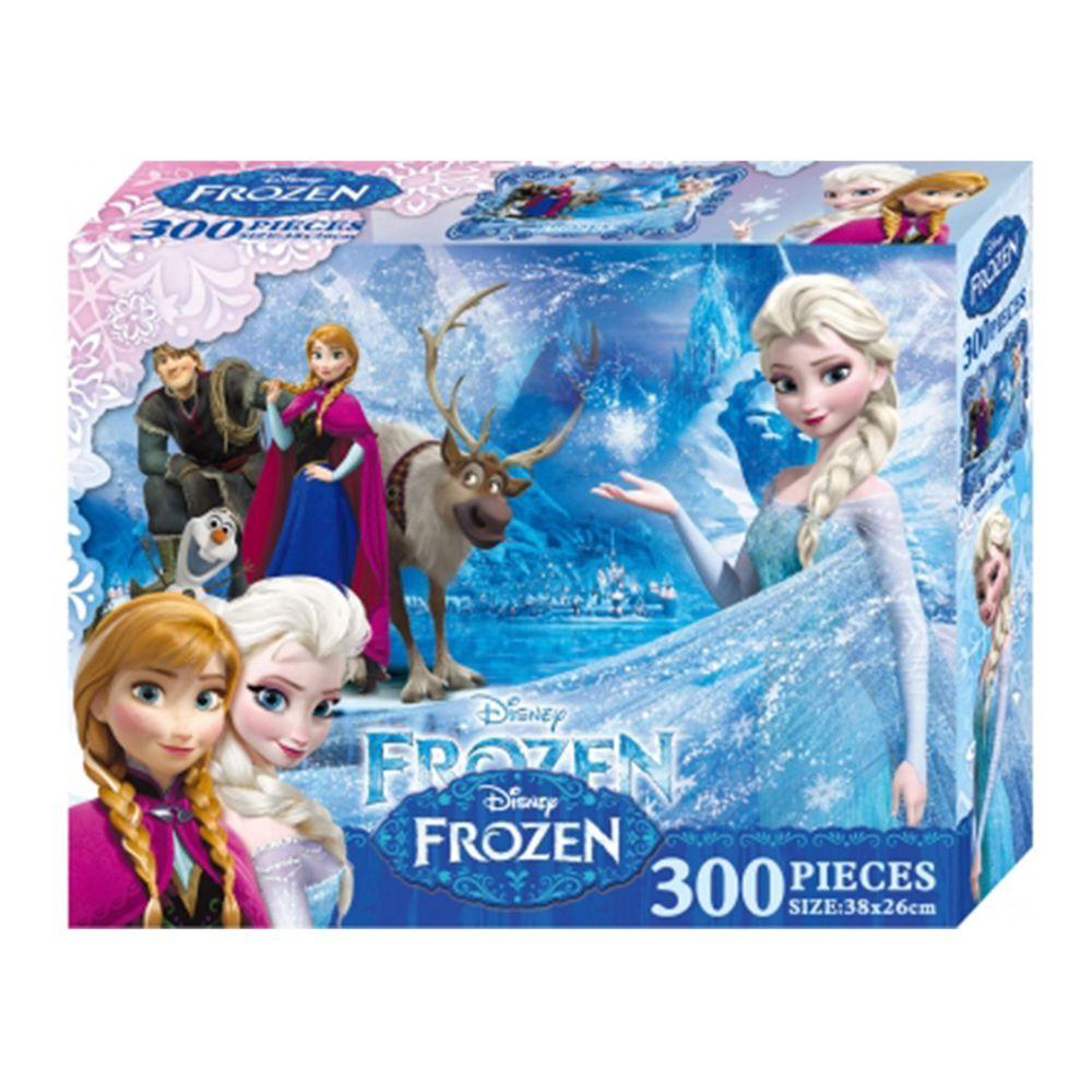 冰雪奇緣 300片盒裝拼圖(B)-冰雪奇緣