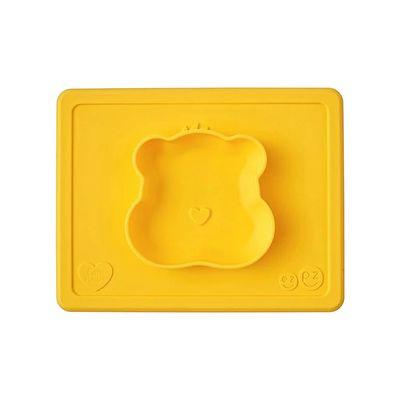 Care Bears聯名餐碗-貪玩熊-餐碗-黃 (23cm*18cm*2.54cm)-170ml
