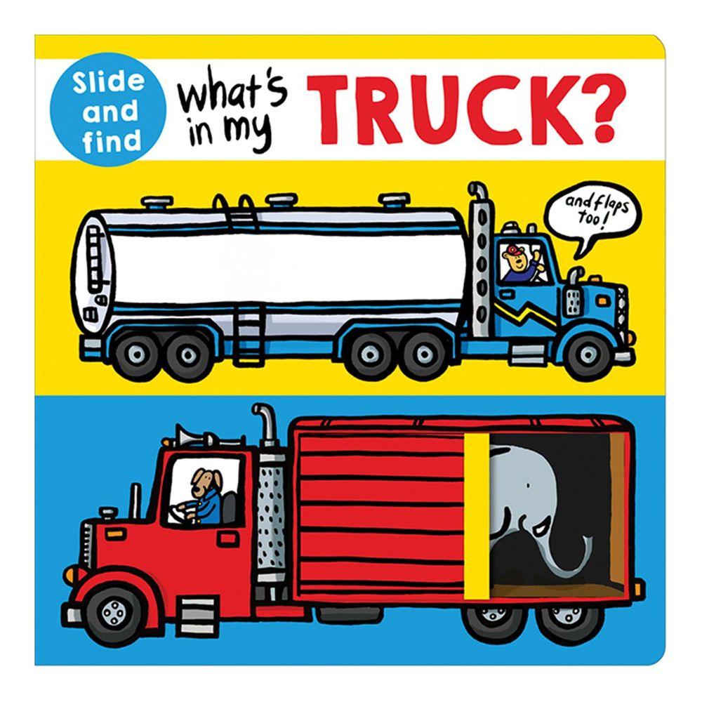 What's in My Truck 猜猜我的卡車裡有什麼 (翻翻書)
