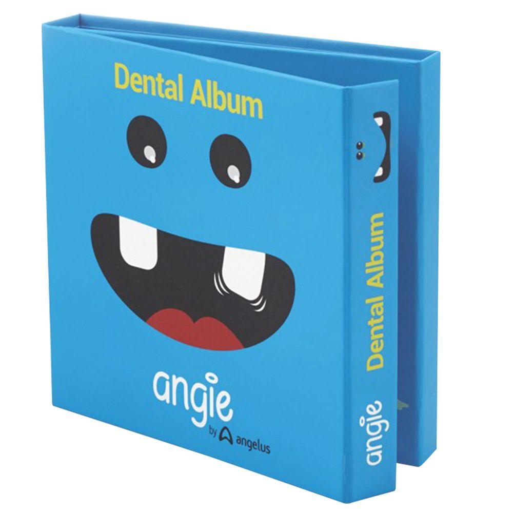 巴西 angie - 牙仙的魔法乳牙紀念小書(乳牙盒)-一本裝-蔚藍