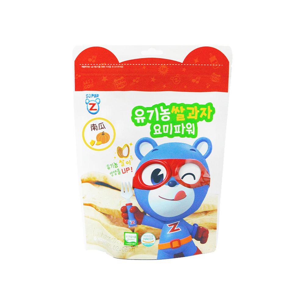 韓國-超人傑克 - 大米米餅-南瓜-20g