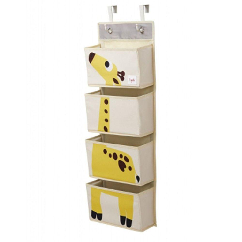 加拿大 3 Sprouts - 壁掛收納箱-長頸鹿