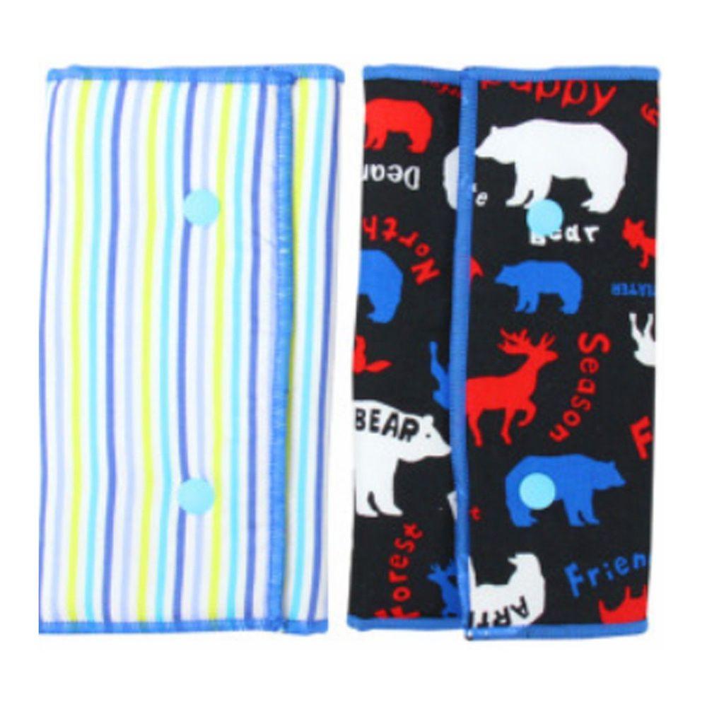 YODA - 優的氣墊口水巾-動物家族