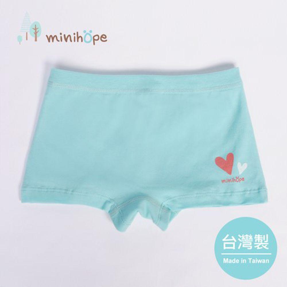 minihope美好的親子生活 - mini愛心女童四角褲