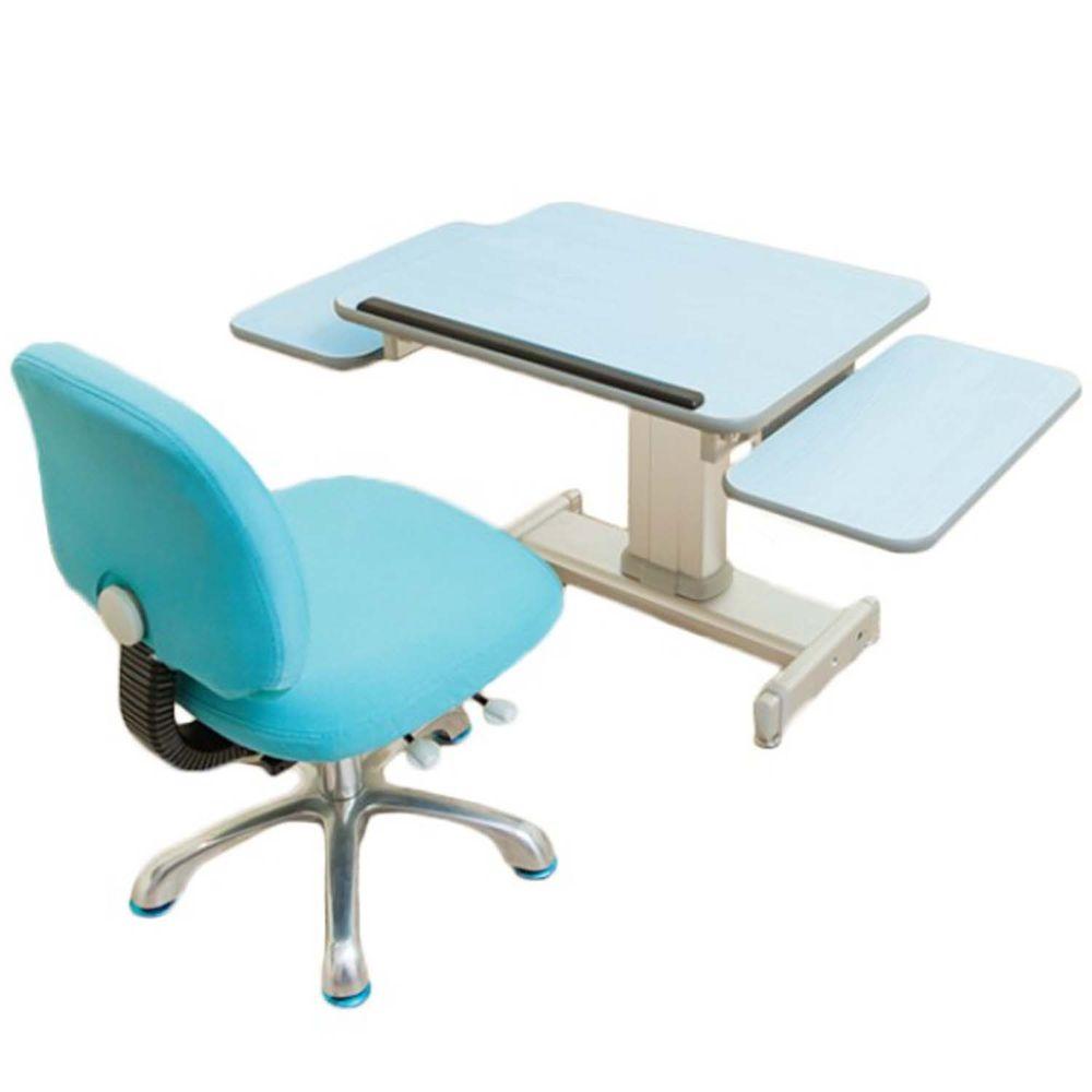 MyTolek 童樂可 - 60精巧版樂適桌+雙側板+挺立椅-湯瑪士藍