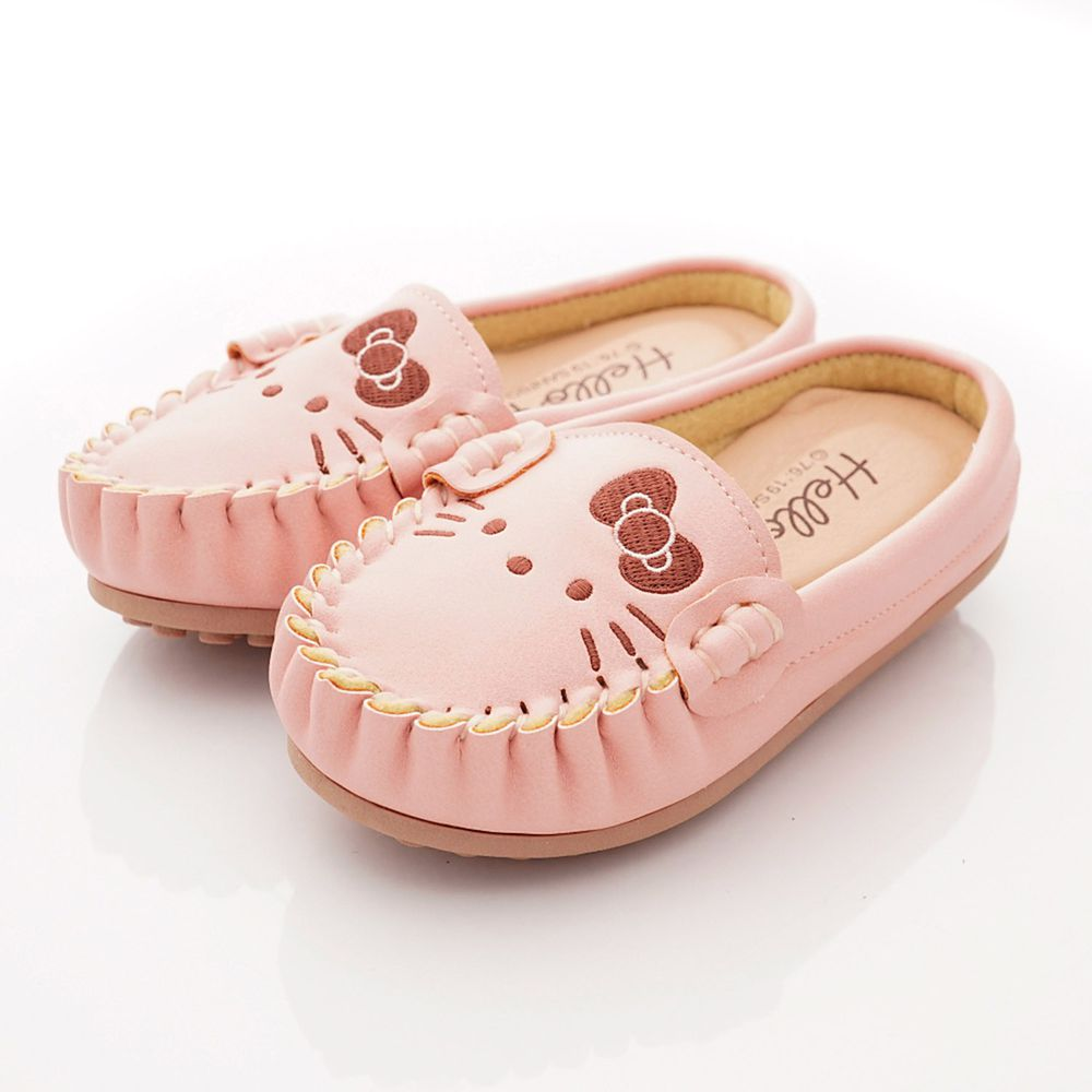 HELLO KITTY - 卡通童鞋-皮質軟Q便鞋款(中小童段)-粉-日本尺寸cm