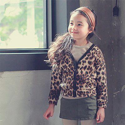 時尚豹紋小外套