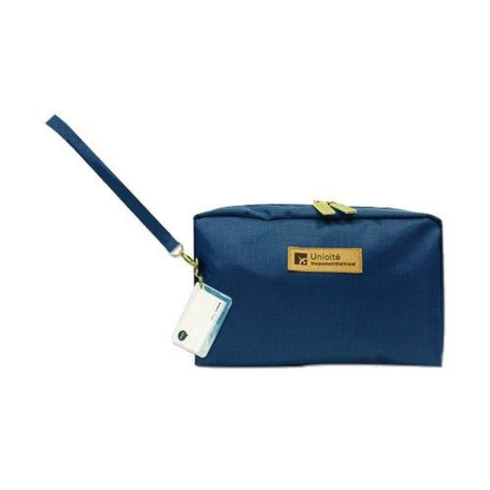 Unicite - 存摺印章收納袋-深藍