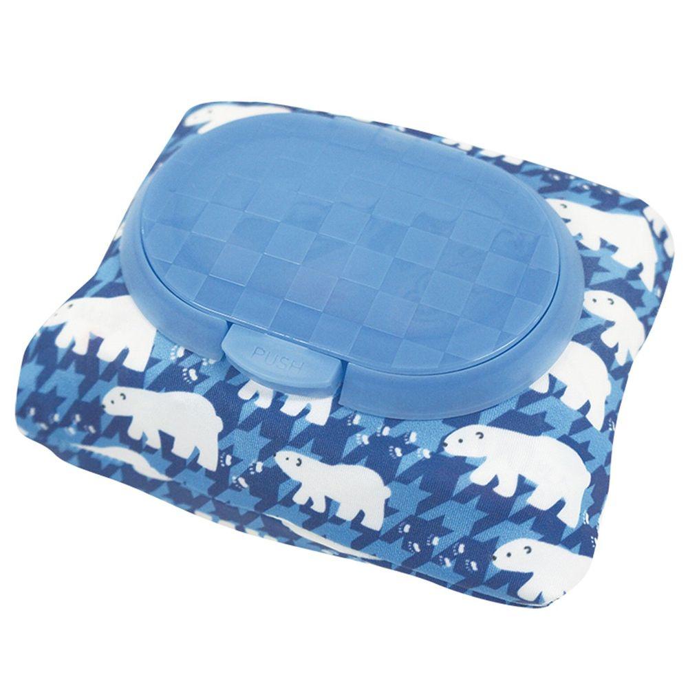 akachan honpo - 兩用FUTAP濕紙巾收納袋 北極熊