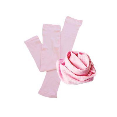 酷涼巾+冰涼袖套-粉