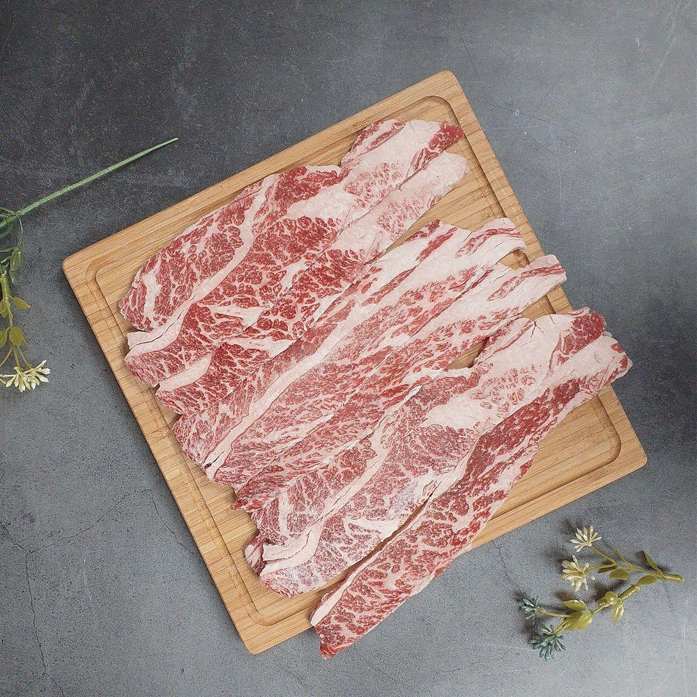 Camaron卡馬龍 - 嚴選-美國安格斯 特選級 (U.S. Choice) 雪花牛 烤肉片 250g