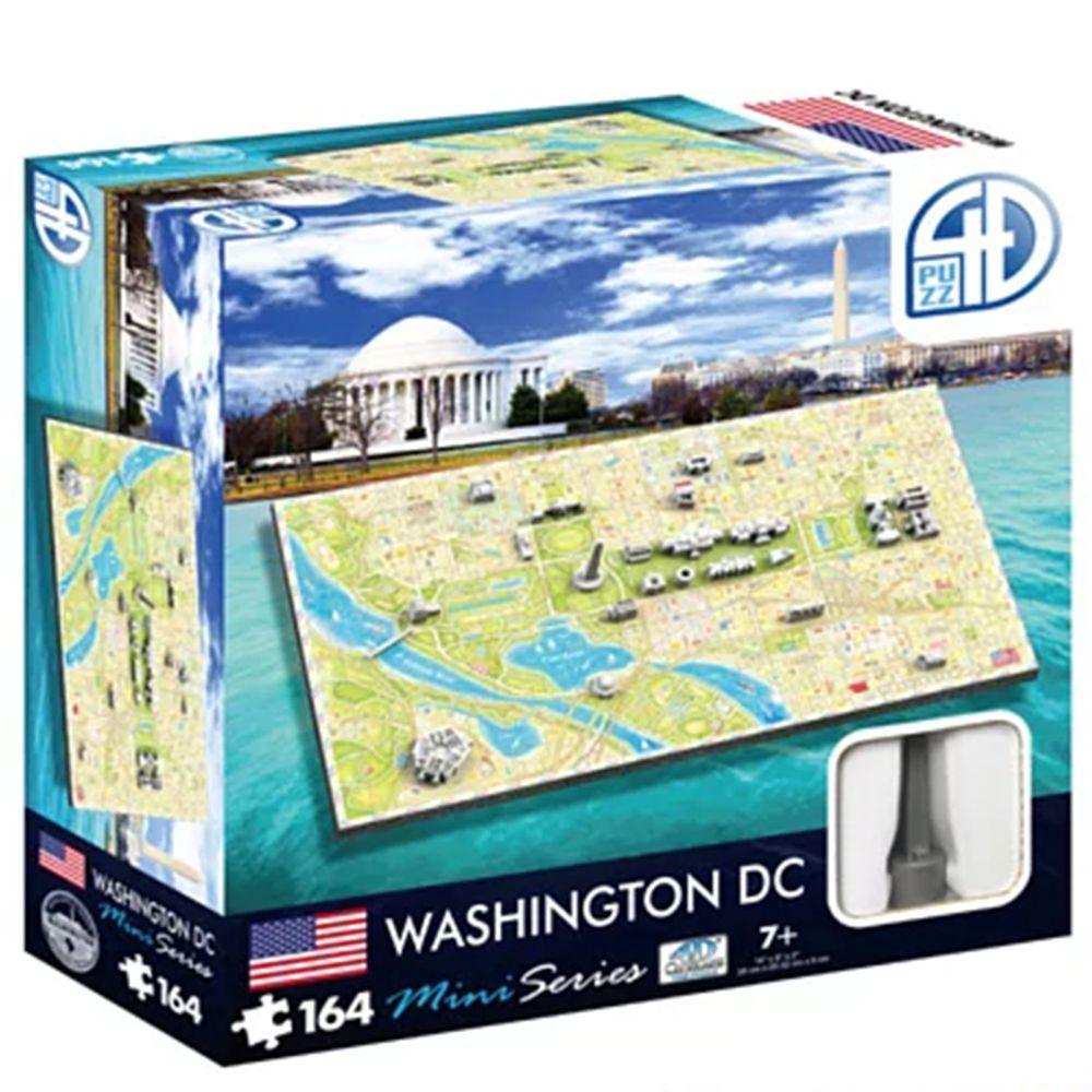 4D Cityscape - 4D-迷你拼圖-華盛頓-164片