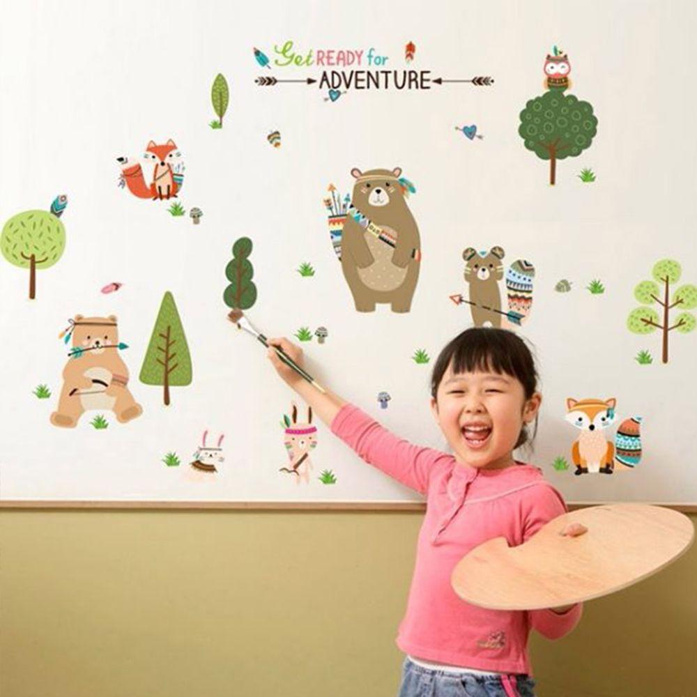 JB Design - 時尚壁貼-北歐風森林 (60cm*90cm)