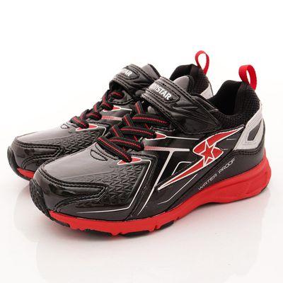 競速機能童鞋-競速防水防滑4cm系列(中大童)-黑