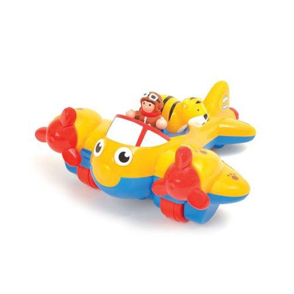 英國驚奇玩具 WOW Toys - 叢林飛機 大黃蜂強尼