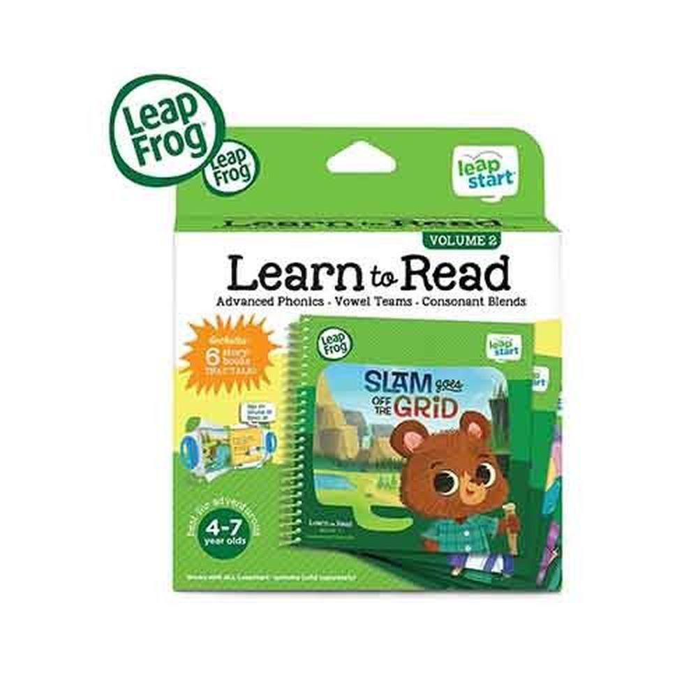 LeapFrog美國跳跳蛙 - LeapStart Books:行動閱讀套組2 (3D) (24*20*6cm)
