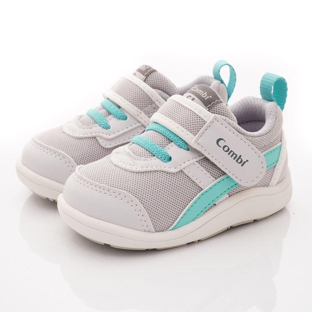 日本 Combi - 學步鞋/機能童鞋-NICEWALK 醫學級成長機能鞋(寶寶段)-灰