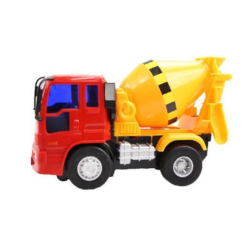 小小家 - 工程小車車-【熱銷補貨到】磨輪混泥土車