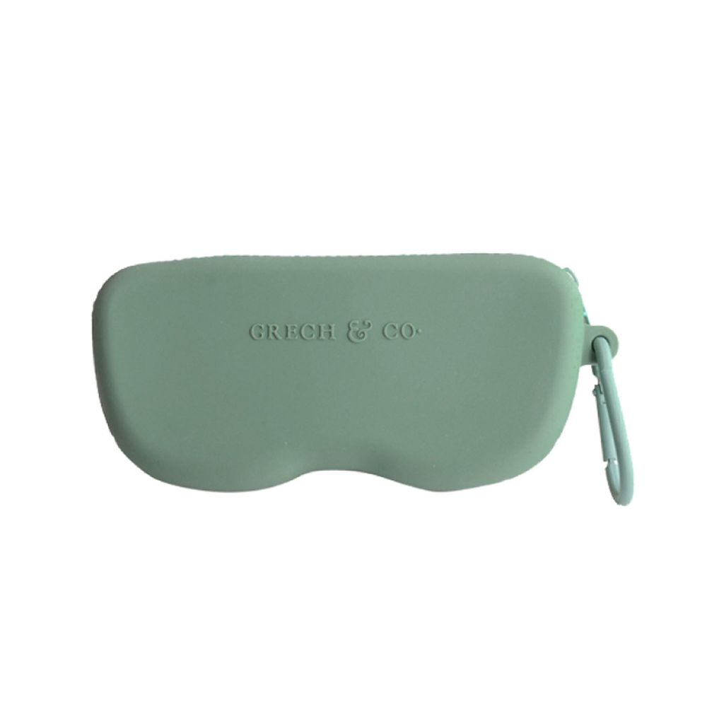 丹麥GRECH&CO - 矽膠眼鏡盒-蕨青