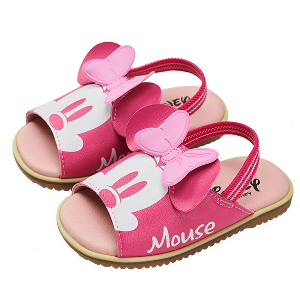 akachan honpo - 米妮經典造型涼鞋-桃色