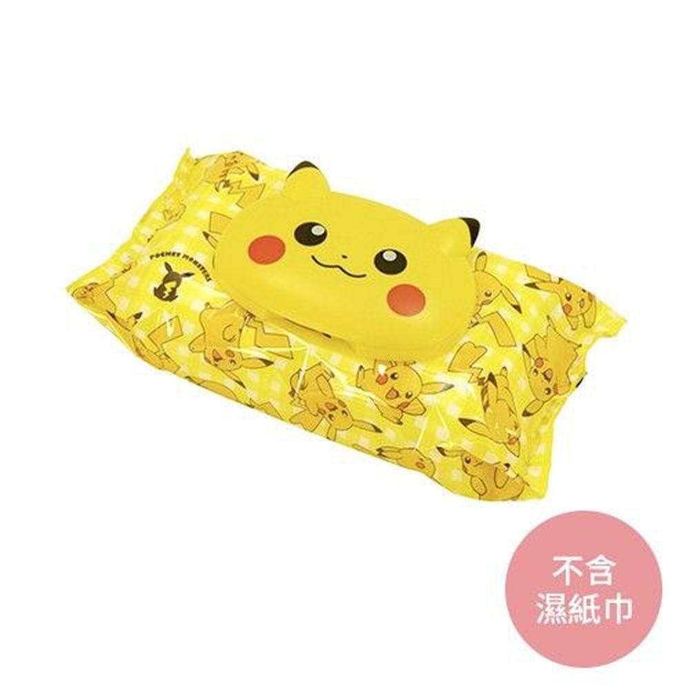 日本 LEC - 造型濕紙巾蓋-Pikachu 皮卡丘