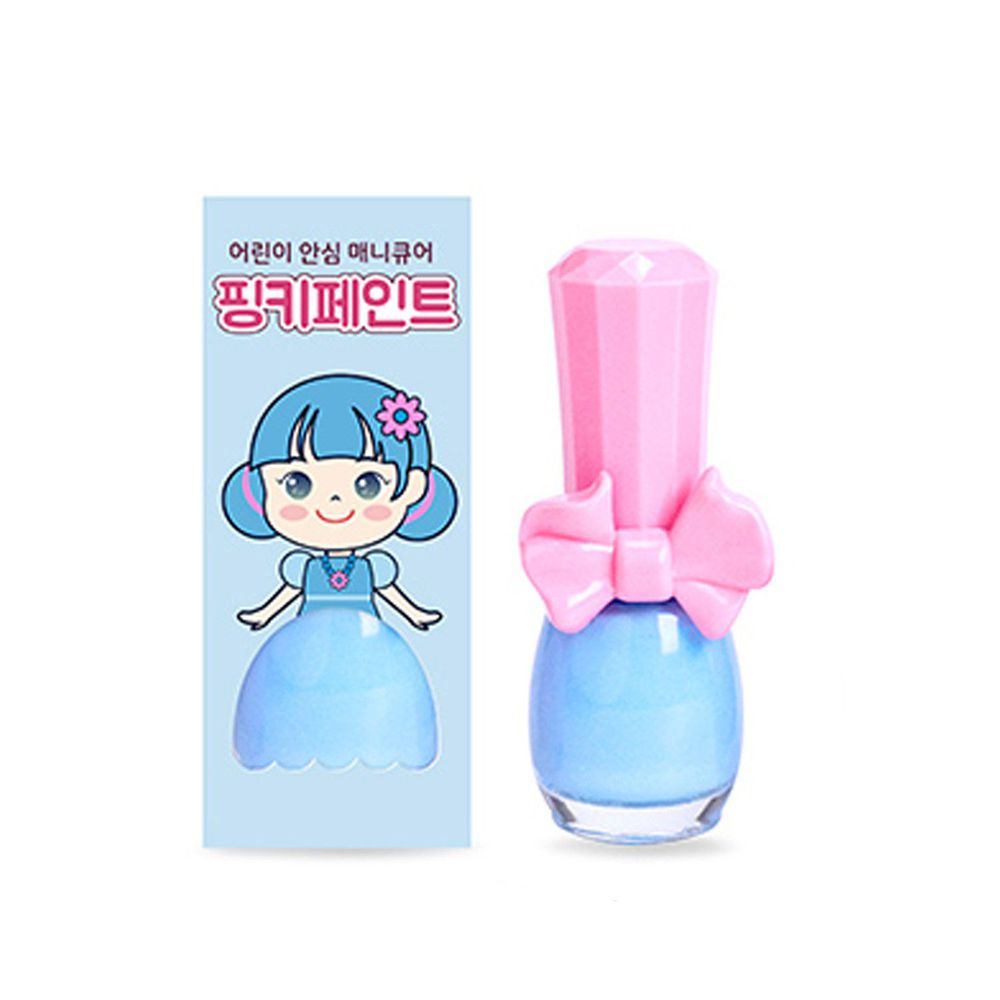 韓國 Pink Princess - 可撕式無毒指甲油-汽水棒棒糖(糖果色系)
