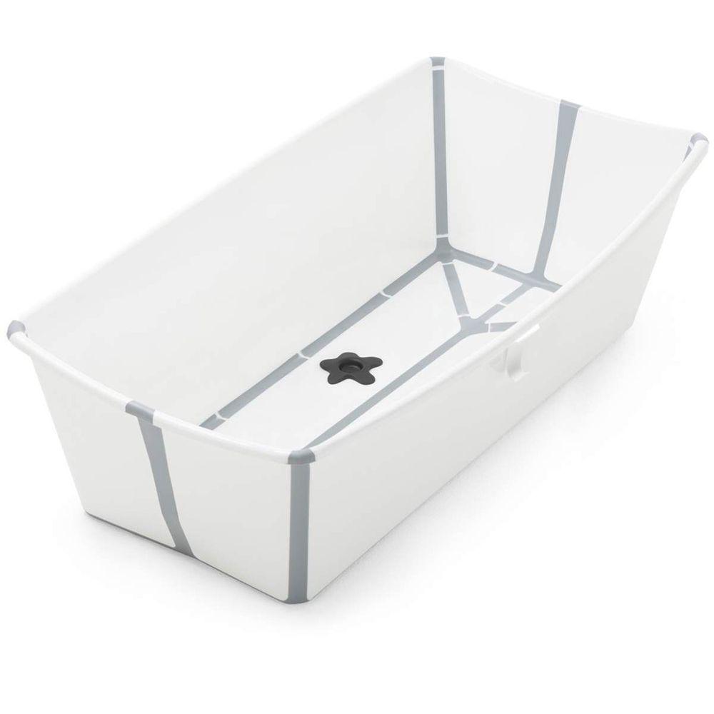 Stokke - Flexi Bath 折疊式浴盆-X-Large-加大版-白色(灰色包邊)