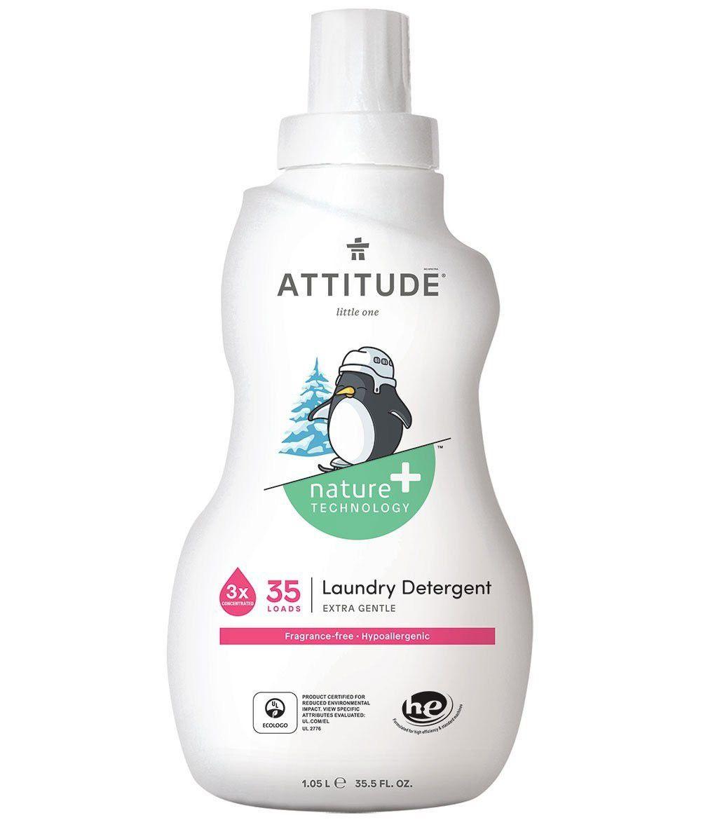 加拿大 ATTITUDE 艾特優 - 嬰幼兒洗衣精-無香-1.05L